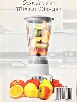 Licuadora batidora de vaso robot de cocina cortadora de hielo picadora - gris: Amazon.es: Hogar