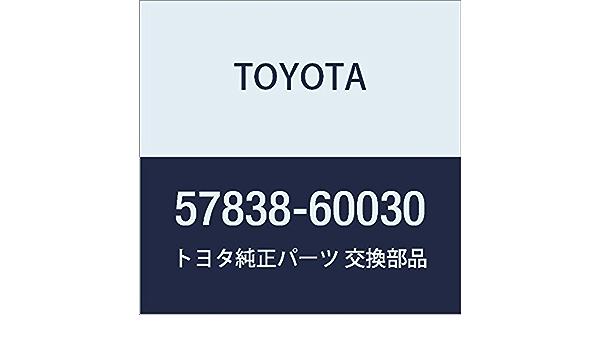 TOYOTA 57836-34030 Seat Leg Reinforcement