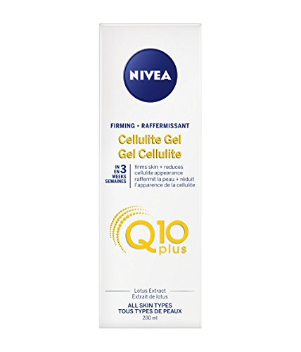 Nivea Firming CELLULITE GEL PLUS Q10 L-Carnitine 200 ml (6.8 fl oz) Made in France ()