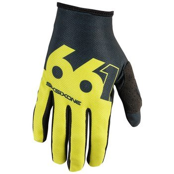 SixSixOne Unisex-Adult Comp Slice Glove (Chartreuse/Black, ()