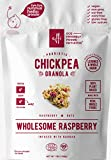 Chickpea Granola Wholesome Raspberry, Organic Plant Based Granola + Probiotics, Breakfast Snack, Nuts & Seeds, Baobab Superfood + Fiber, Vegan, Whole Grain Gluten Free Oats, 7 oz pouch Review