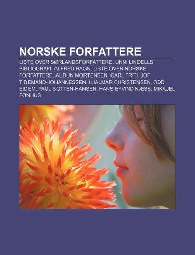 norske forfattere liste