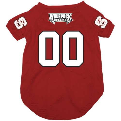 NCAA North Carolina State Wolfpack Pet Jersey,  Medium