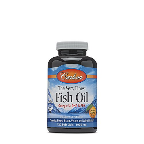 Carlson The Very Finest Fish Oil - Natural Orange Flavor