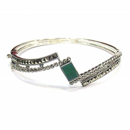 Jewelshingar Jewellery Free Size Bracelet For Girls ( 15288-ssbl-green ) by Jewelshingar