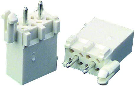 1-770178-0 6 Contacts 4.14 mm Pack of 20 Plug 1-770178-0 Through Hole Mini Universal MATE-N-LOK Series Wire-To-Board Connector