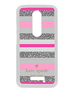 Motorola Moto X 3rd Generation Case ,Kate Spade 164 white Moto X 3rd Gen Cover Fashionable And Unique Custom Designed Phone Case
