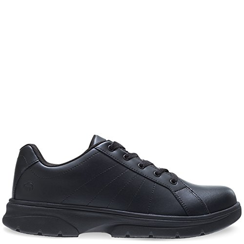 Wolverine Women's Serve SR LX Oxford Food Service Shoe, Black, 8 M - Shoe Wolverine Oxford