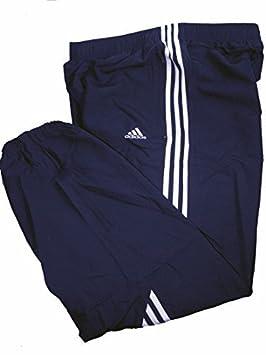 602ff0d617 Adidas Mens 3S Samson Woven Tracksuit Bottoms 3 Stripe Joggers ...