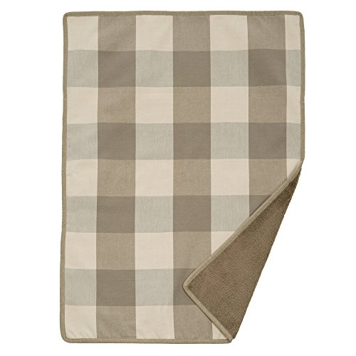 Jax and Bones Buffalo Check Puddy Standard Blanket, Small