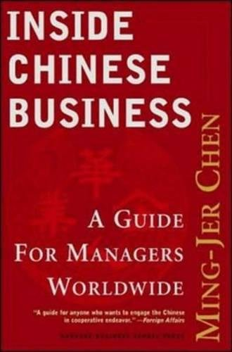 Inside Chinese Business: A Guide for Managers Worldwide PDF