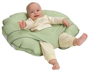 Leachco Cuddle-U Nursing Pillow and More, Sage Pin Dot