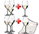 Riedel VINUM Pay 6 Get 8 Mixed White Varietal Set 4