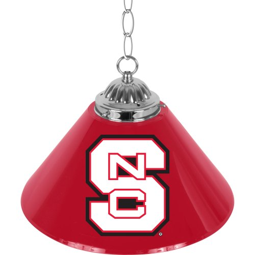 NCAA North Carolina State University Single Shade Gameroom Lamp, 14