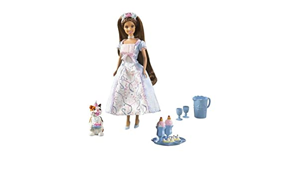 Amazon.es: Barbie Mini Kingdom Princess Erika Doll by Barbie ...