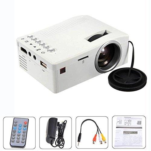 Coolbiz 1080P HD LED Projector MulitMedia Projector Home Theater Cinema USB TV VGA SD HDMI Mini Projector