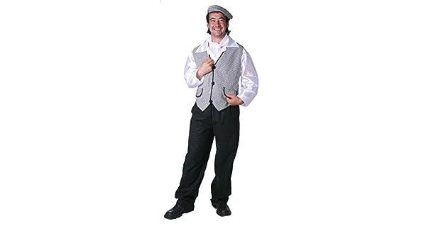 Disfraz de chulapo hombre - Única: Amazon.es: Juguetes y juegos