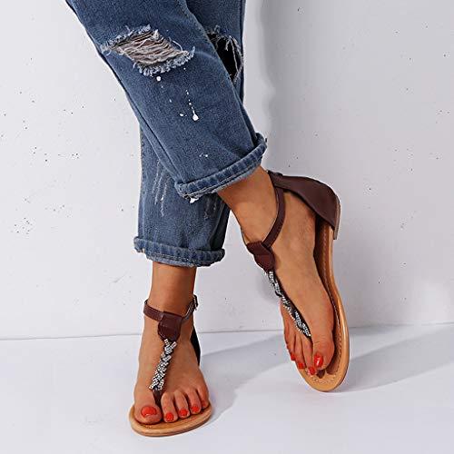 Sandals Marrone Sandals Ballerine Veyikdg Ballerine Donna Donna Marrone Veyikdg Sandals Veyikdg Ballerine Donna Veyikdg Sandals Marrone raFRytcF