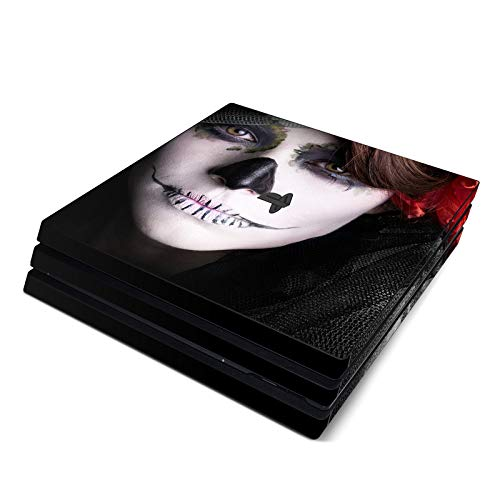 Diablo El Muerto Full Faceplates Skin Decal Wrap with 2 Piece Lightbar Decals for Playstation 4 Pro