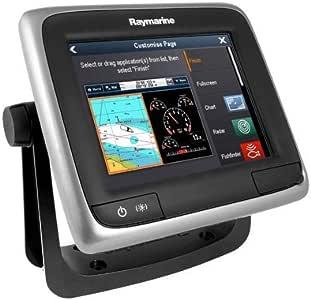 Raymarine E70163-Cuervo Una Serie A67 WiFi Touch Pantalla Multifunción De Sonda con Cmap Fila Essentia: Amazon.es: Electrónica