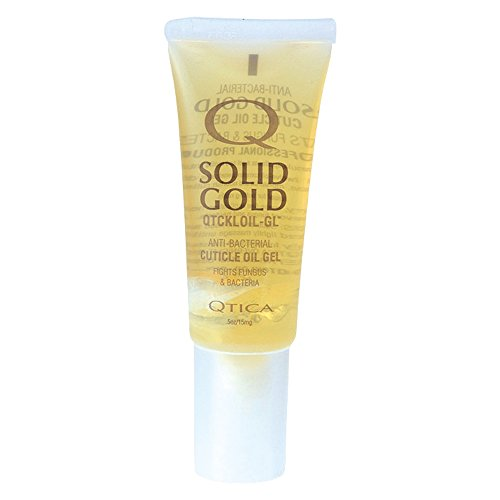 Qtica Solid Gold Cuticle Oil Gel, 0.5 oz