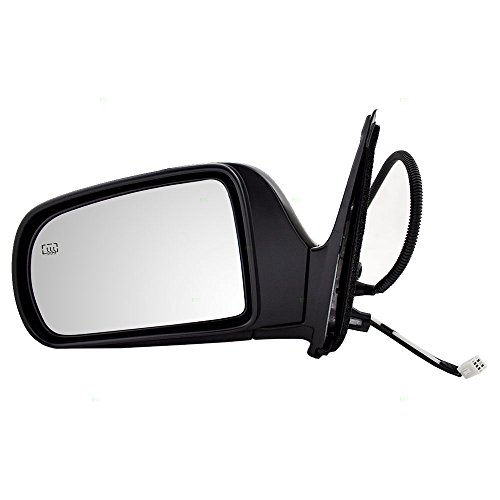 1998 Toyota Sienna Mirror (Drivers Power Side View Mirror Heated Replacement for Toyota Van 87940-08061)