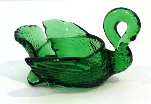 Vintage Cambridge Glass Co. 3-inch Emerald Green - Cambridge Glasses