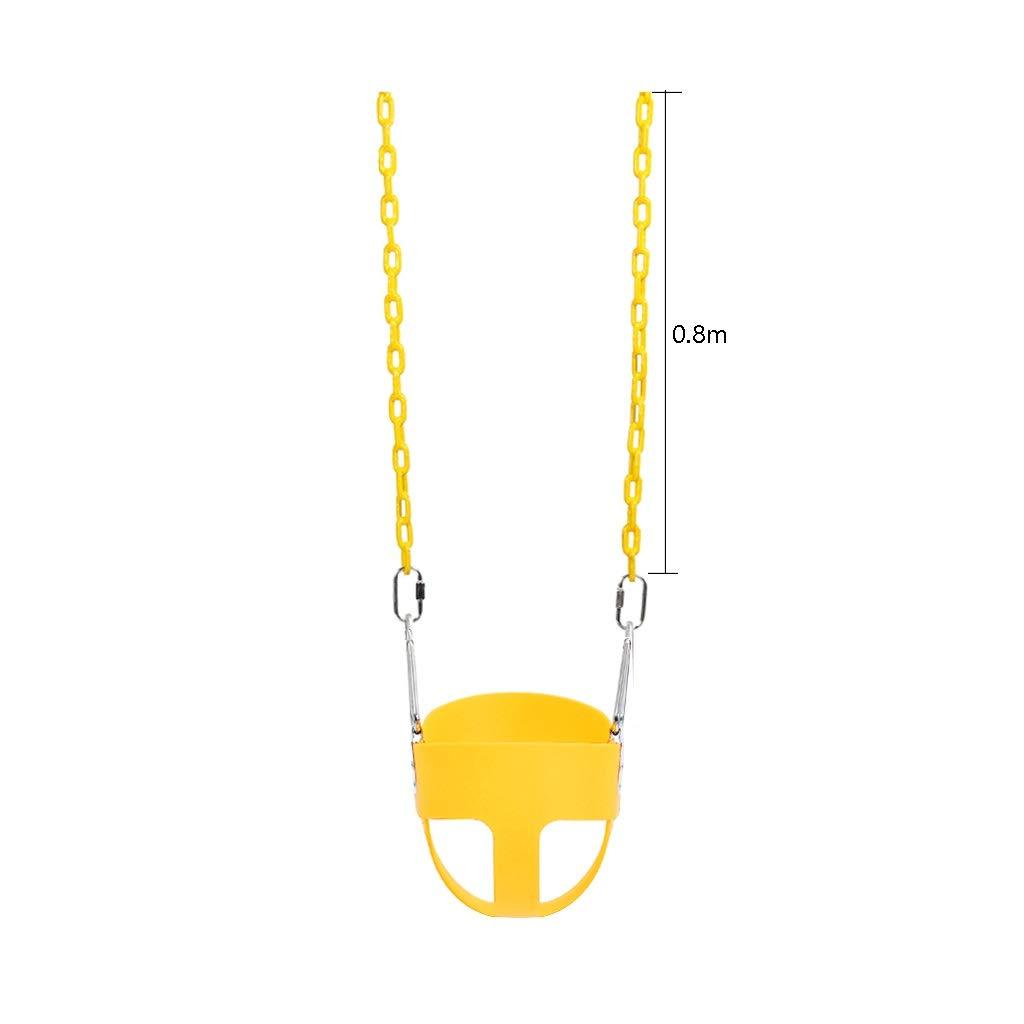 ホットセール LIGONG 0.6 子供のスイングシートハイバックチャイルドベビースイングクリエイティブ実用屋外屋内スイングセットプラスチック4色31* 29* 黄 0.6 cm (色 黄 : 青) B07R4NLVRC 黄 黄, カーポートマルゼン:af0799f0 --- a-school-a-park.ca