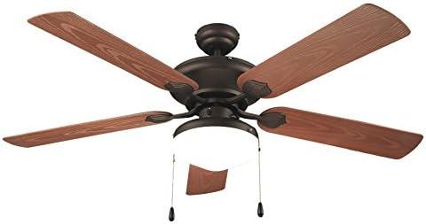 Air & Light Thika Ventilador de techo con iluminación/uso exterior ...