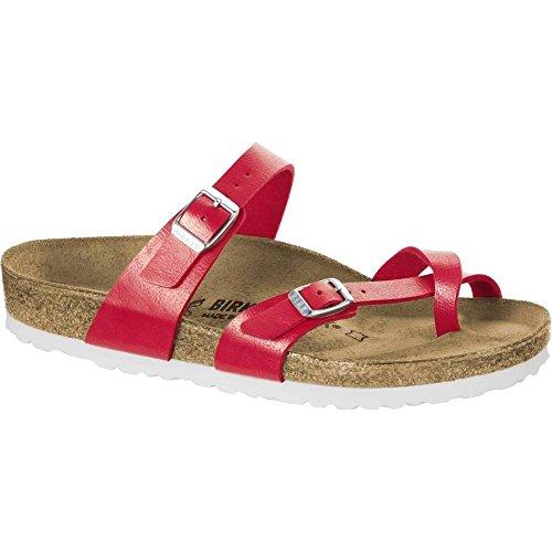 Birkenstock Womens Mayari Graceful Hibiscus Regular Fit Sandals Size 7.5