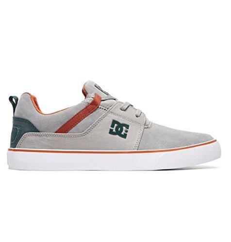 Pour Hommes Dc Gris Vert Heathrow Vulc Chaussures RTqwHd5R