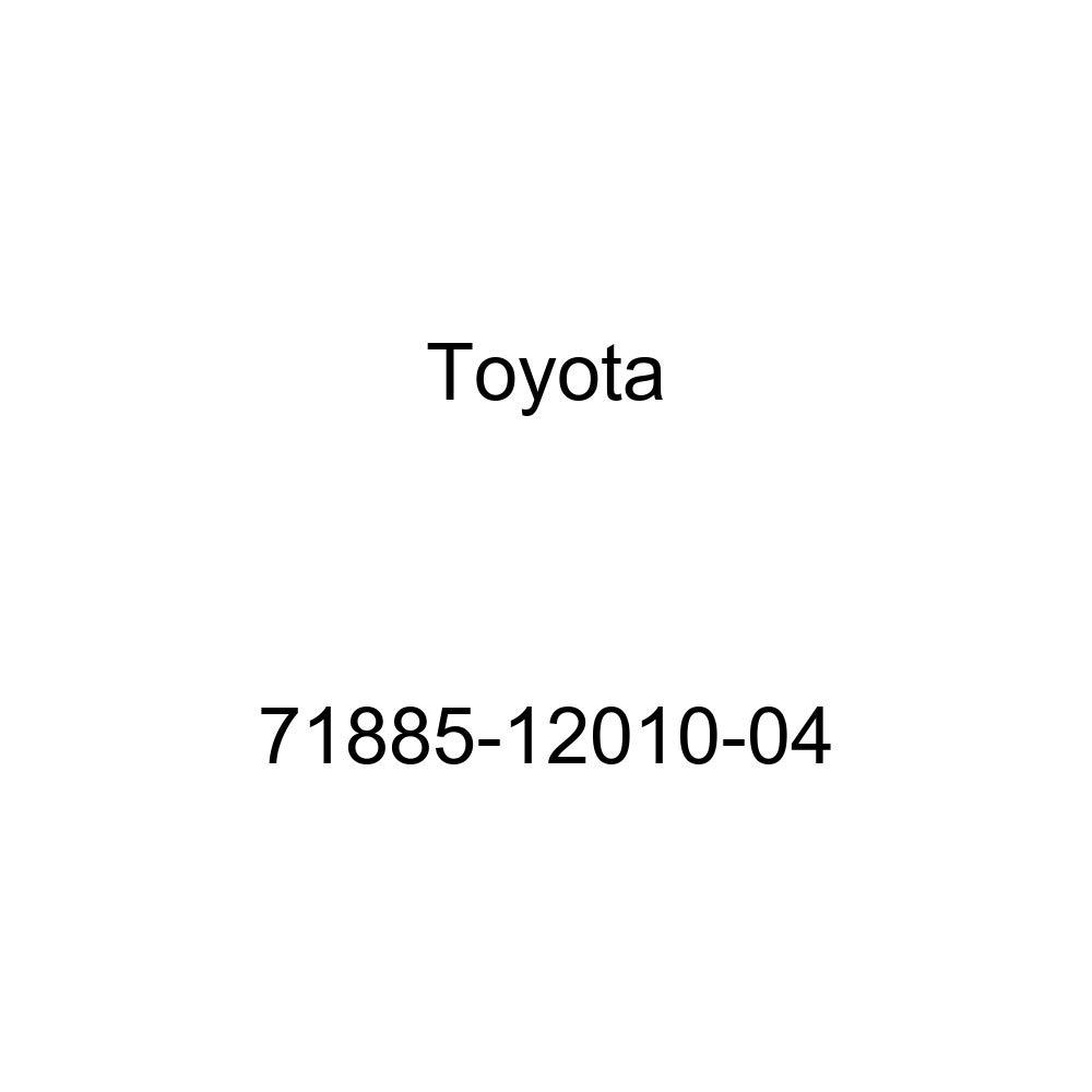 TOYOTA Genuine 71885-12010-04 Seat Back Mat