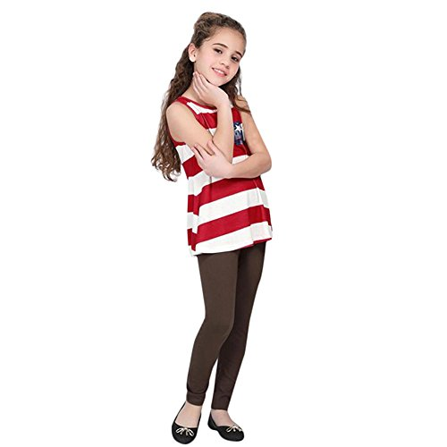 21715b9c0 EINCcm Mom and Me Baby Girls Blouse 4th of July Family Tops Stars Striped t-