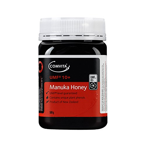 Comvita Certified UMF 10+ (MGO 263+) Manuka Honey | New Zealand's #1 Manuka Brand | Raw, Non-GMO, Halal, and Kosher | Premium Grade (17.6 oz) by Comvita (Image #1)