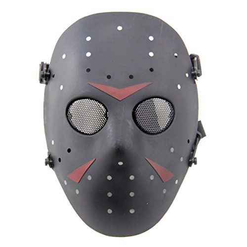 CS Games Activity Stylish Jason Mask Safeguard Ventilate Face Protective Mask Halloween Masquerade Cosplay Carnival Costume -