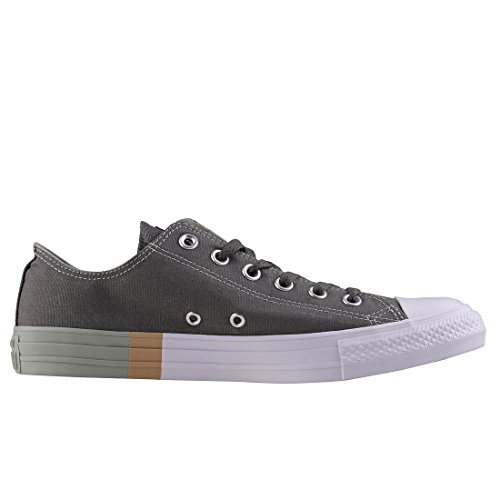 Omgekeerde Chuck Taylor All Star Os Mens Trainers River Rock Salie