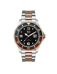 Ice Steel IC016546 - Reloj analógico unisex de cuarzo con pulsera de acero inoxidable