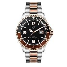 Ice-Watch - ICE steel Chic silver rose-gold - Reloj soldi para Hombre (Unisex) con Correa de metal - 016546 (Medium)