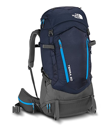 The North Face Terra 50 Hiking Backpack (Urban Navy/Hyper Blue, SM/MD)