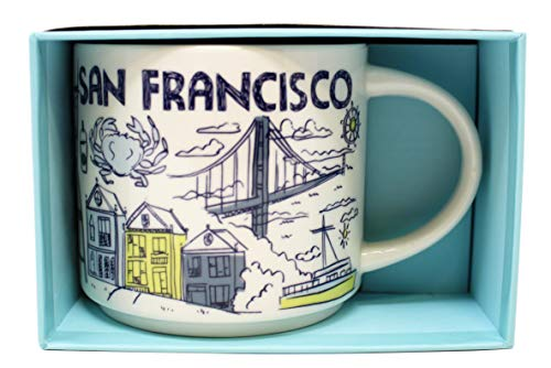 (Starbucks Been There Series San Francisco Mug, 14 Oz)