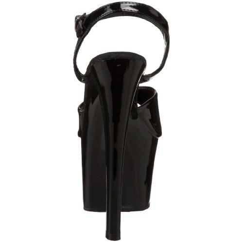 Noir vestir Vernis 309 mujer para SKY Pleaser de Sandalias x6cn8WqF