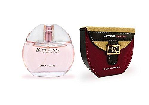 Chris Adams Perfumes Hot Active Woman Perfume for Women, Platinum - Women Uae Hot