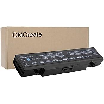 OMCreate Battery Compatible with Samsung R480 R530 R540 R580 R720 R730 Q430 Q530 RV520, fits P/N AA-PB9NC6B PB9NS6B AA-PB9NC6W AA-PB9NC5B AA-PL9NC2B ...