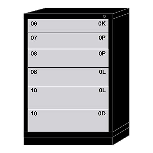 (Lyon Modular Drawer Cabinet - 6 Drawers with 84 Compartments - 30