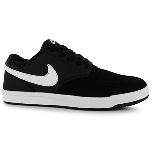Nike SB Fokus scarpe da skate da uomo, colore: Nero/Bianco casual ginnastica