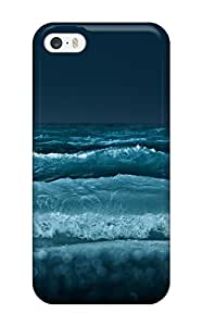 New Premium Flip Energetic Waves Skin Case For Sam Sung Note 4 Cover 3347048K68411083