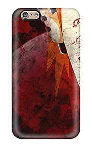 For Iphone 6 Tpu Phone Case Cover(akatsuki)