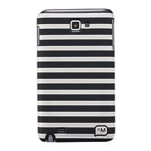 Anymode ACS-P1250BK carcasa para Galaxy Note 5,3 rayas negras
