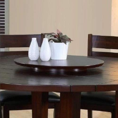 "Wood Very Dark Espresso Lazy Susan Turntable Tray 21"" Home Supply Maintenance Store"