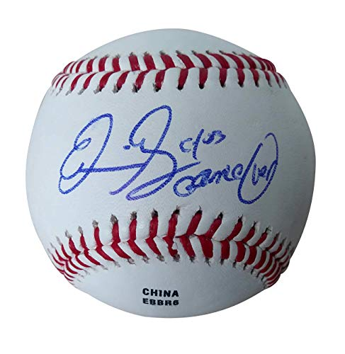 Los Angeles Dodgers Eric Gagne Autographed Hand Signed Baseball with Game-Over and CY 03 inscriptions and Proof Photo of Signing and COA- Rare Full Name Signature from Southwestconnection-Memorabilia